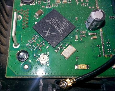 FRITZ!Box 7320 Mainboard IPEX Anschluss