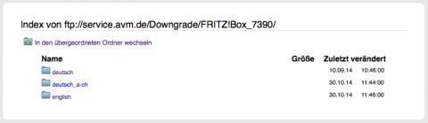 AVM FTP Server