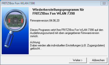 FRITZ!Box Recover 1