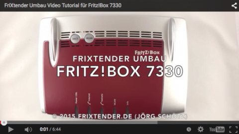 FriXtender Youtube Video Tutorial FRITZ!Box 7330