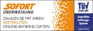 Sofort AG Sofortüberweisung Banner