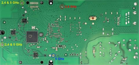 FRITZ!WLAN Repeater 1750E Mainboard