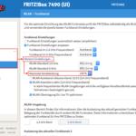 Sendeleistung der Fritz!Box reduzieren