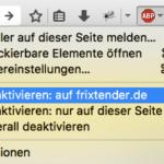 AdBlocker auf FriXtender.de