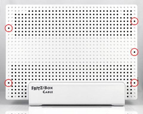 FRITZ!Box 6590 versteckte Klammern