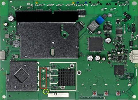 FRITZ!Box 7590 AX Mainboard Motherboard Platine pcb