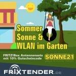 Sommer, Sonne & WLAN im Garten
