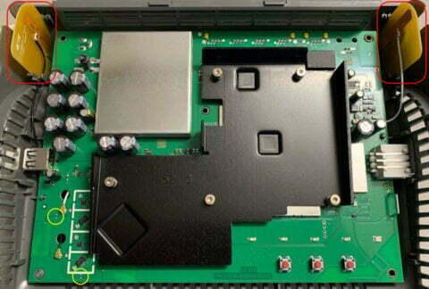 FRITZ!Box 6660 Fiber Mainboard V2